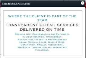Our Employment Law Firm Values